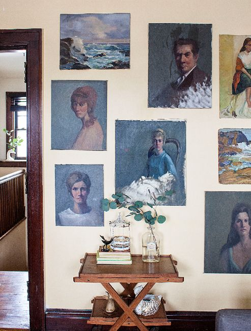 decorating with vintage photos